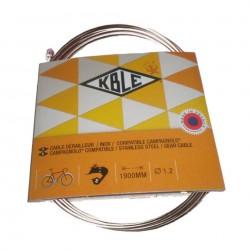 CABLE CAMBIO TRANSFIL CAMPAGNOLO 1 2x1900mm
