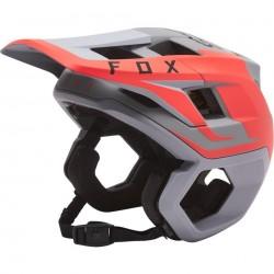 CASCO FOX DROPFRAME PRO GRIS/ROJO