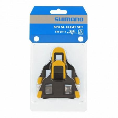 CALAS SHIMANO SM-SH11 68 AMARILLAS