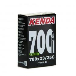 CAMARA 700x23/25C V/BICI KENDA 40mm