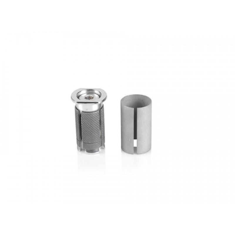 Portaequipaje de aluminio plata 24``-28``