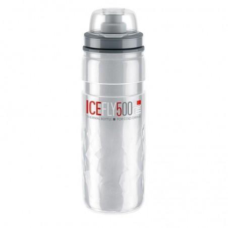 BIDON ELITE ICE FLY 500ml GRIS